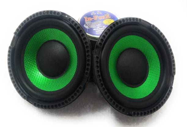 """In-Foxe CarSubwoofer-Double Sparkle Green 6""""inch Sparkle Green woofer audio speaker Subwoofer"""