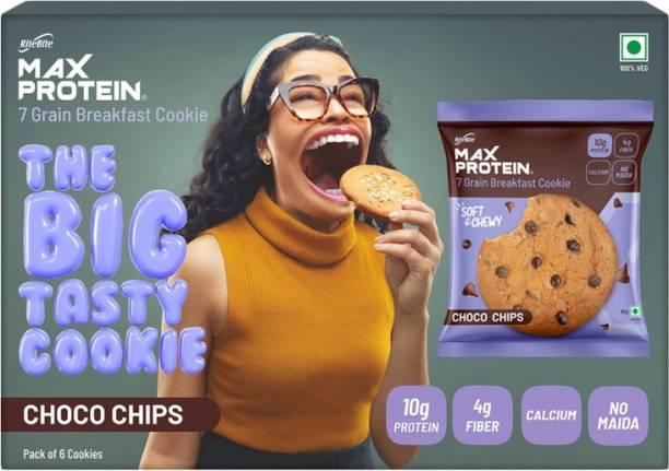 RiteBite Max Protein Choco Chips Cookies