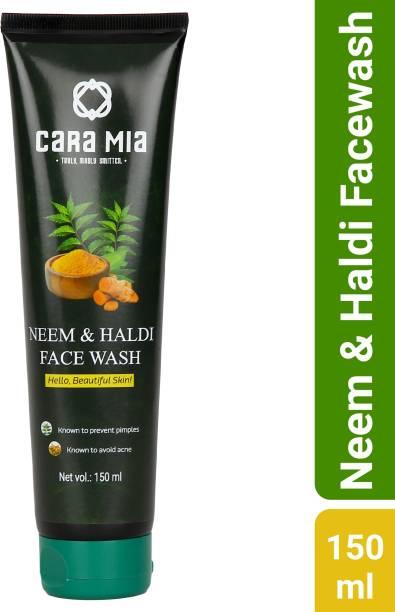 CARA MIA Neem and Haldi Face Wash