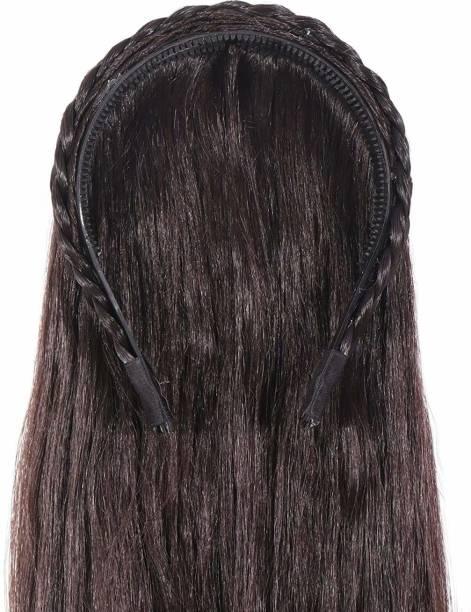 LSARI Brown  Band Hair Extension