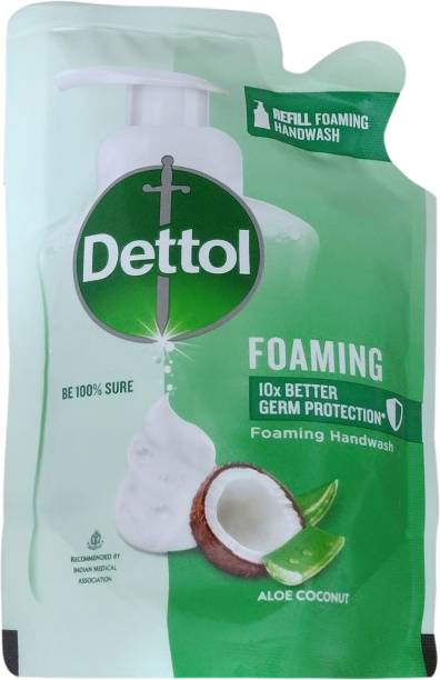Dettol Aloe Coconut Foaming Hand Wash Refill Pouch