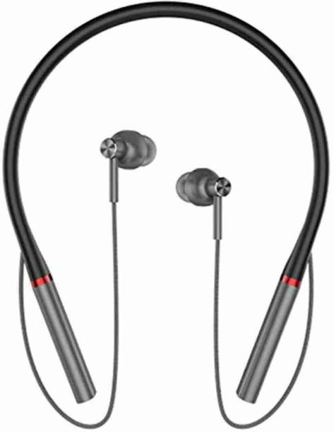CIHLEX J1000 BT in-Ear Neckband with 10 Hours Playtime Bluetooth Bluetooth Headset
