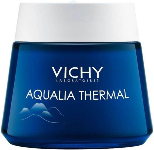 Vichy Aqualia Thermal Night Spa Anti Fatigue Night Cream and Face Mask with Hyaluronic Acid