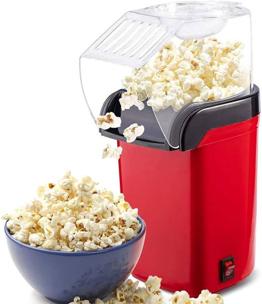 Infinity Creation OIL AND SALT FREEHot Air Popcorn Popper Electric Machine and Snack Maker with Removable Lid 1200w (DO NOT USE OIL, SALT, AND WATER) 202 400 g Popcorn Maker