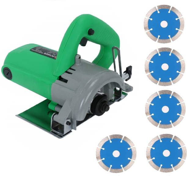 Sauran CM4 Cutter Machine(Marble/Granite/Concrete/Tile/Wood Cutter) chapta with 5 blue marble blade Marble Cutter
