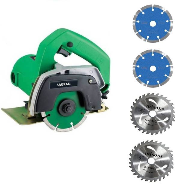 Sauran CM4 Cutter Machine(Marble/Granite/Concrete/Tile/Wood Cutter) with 2 Wood cutting and 2 Marble Marble Cutter