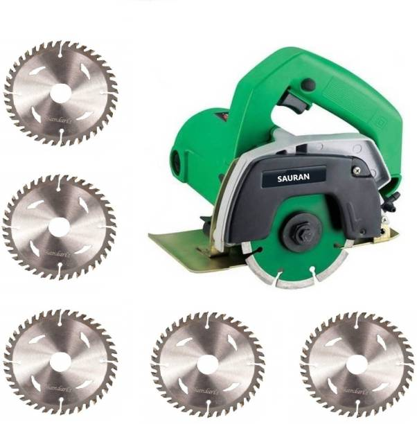 Sauran CM4 Cutter Machine(Marble/Granite/Concrete/Tile/Wood Cutter) with 5 Wood cutting wood blade Marble Cutter