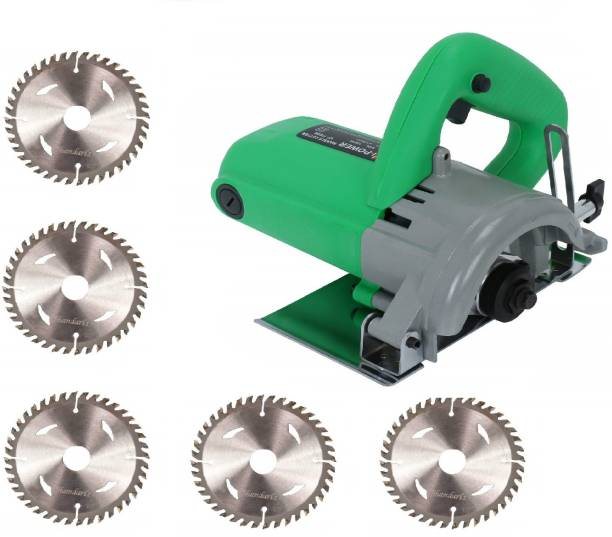 Sauran CM4 Cutter Machine(Marble/Granite/Concrete/Tile/Wood Cutter) chapta with 5 Wood cutting blade wood Marble Cutter