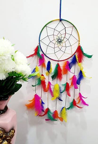 PNASGL STORE Dream Catcher Festive Car Hanging Handmade Hangings for Attract Positivity and Positive Dreams Feather Dream Catcher