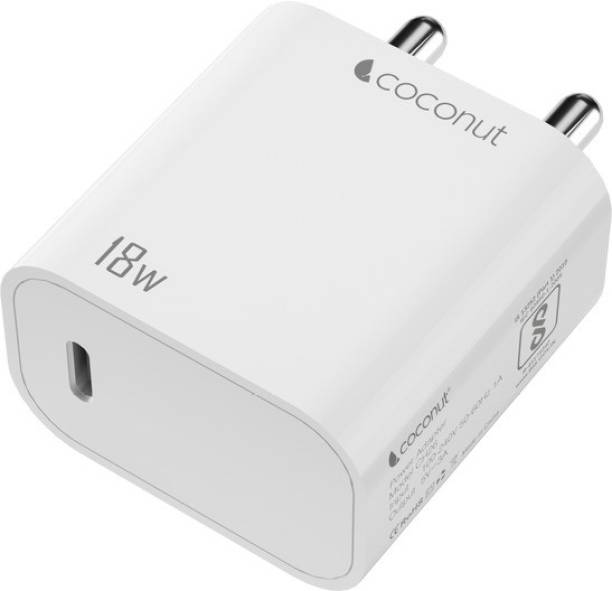 Coconut Sprint PD 18 W 3 A Mobile Charger