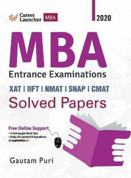 MBA 2020-21 Solved Papers (Xat Iift Nmat Snap Cmat)