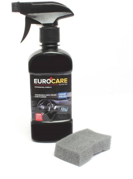 Auto Hub Liquid Car Polish for Dashboard, Windscreen, Headlight, Bumper, Chrome Accent, Metal Parts