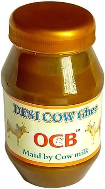 OCB 100% Pure Desi Cow Ghee from Desi Cow Milk Ghee 250 g Plastic Bottle