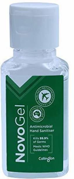 callington Novogel,Gel based sanitizer (Floral, 50) Hand Sanitizer Bottle