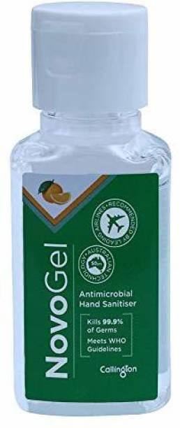 callington Novogel,Gel based sanitizer (Orange, 50) Hand Sanitizer Bottle