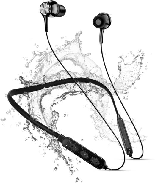 ET BAZAR Sport Bluetooth Wireless Earphones with 8 Hours Play Time IPX4 Waterproof Workout Earbuds in- Ear Headphones for Running, Workouts, Excercise, Gym Bluetooth Headset