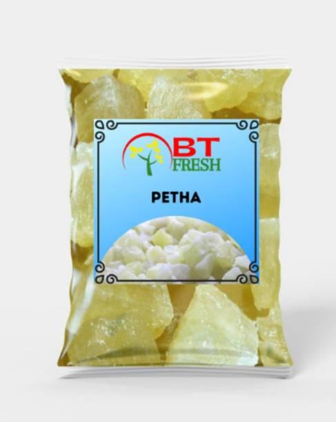 BT Fresh Dry White Petha Agra Petha Pumkin Sweet Ash Gourd (3 Kg) Pouch
