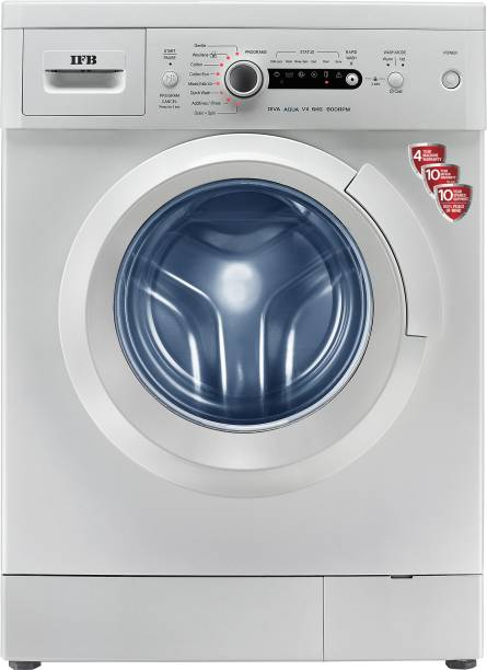IFB 6 kg 5 Star Aqua Energie, Laundry Add, Tub Clean, Fully Automatic Front Load with In-built Heater White