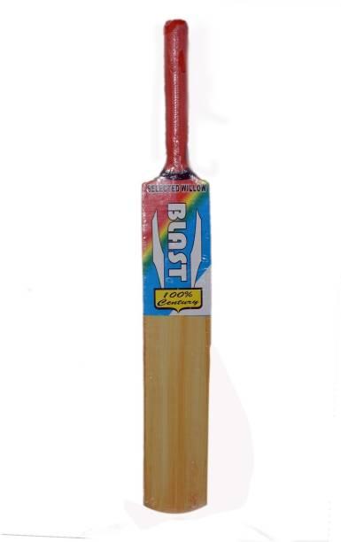 SPORTSHOLIC New SSI Wooden Tennis Cricket Bat Size 2 For Kids Boys 6 To 8 Years Poplar Willow Cricket  Bat