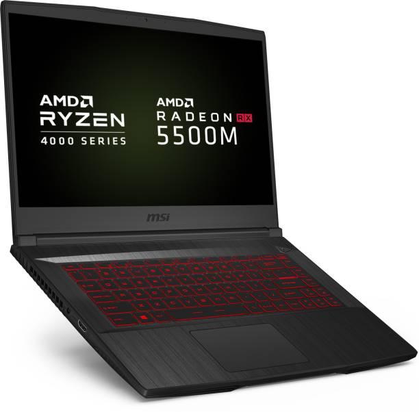 MSI Bravo 15 Ryzen 5 Hexa Core 4600H - (8 GB/512 GB SSD/Windows 10 Home/4 GB Graphics/AMD Radeon RX 5500M/60 Hz) Bravo 15 A4DDR-420IN Gaming Laptop