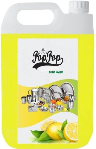 POPPOP yellow lemon dishwash liquid Dishwash Bar