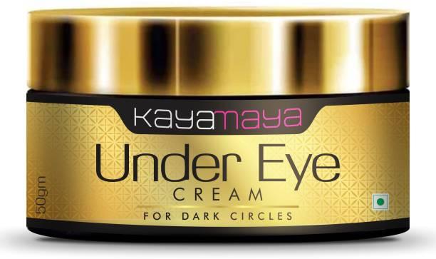 Kayamaya Under Eye Cream Enriched with Natural Oils to Remove Dark Circles & Wrinkles