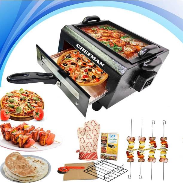 Chefman CH DUAL TANDOOR ( 2IN1) Pizza Maker