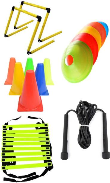 Hobs Strength Training Weight Training Combo Set Pack of 5 Items Football & Fitness Kit