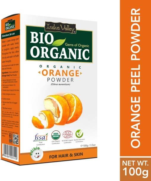 Indus Valley Bio Organic 100% Herbal Orange Peel Powder