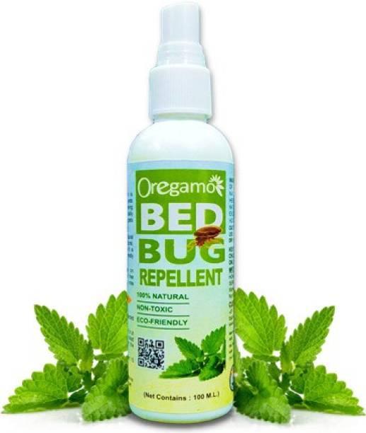 oregamo Herbal Bed Bug & Insect Killer Spray (100 ML) : Non Toxic Herbal Bed Bug Termite & Insect, Killer Spray, Bed Bug Repellent, Bed Bug Medicine, Bed Bug Killer Spray, Bed bug Spray