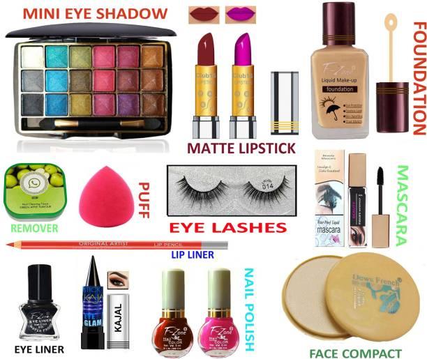 CLUB 16 Stylish Beauty Makeup Kit For Girls & Women 7AUG89