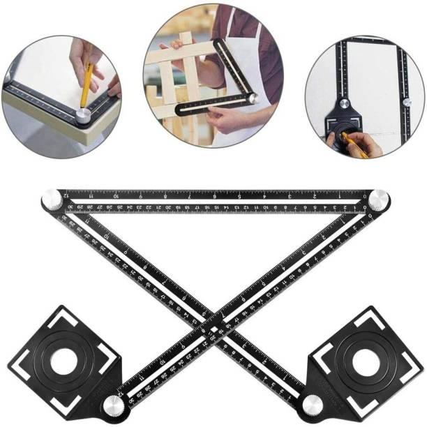 Fairmate Tile Hole Maker Multi Angle Measuring , Carpenter Universal Pack of 1 Marking Gauge