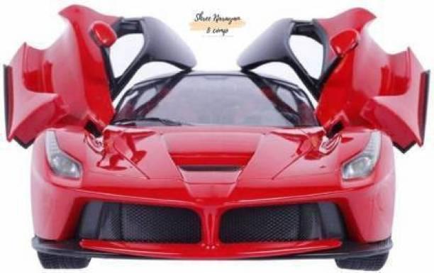 shree narayan Ferrari car with Door open with light( remote control)
