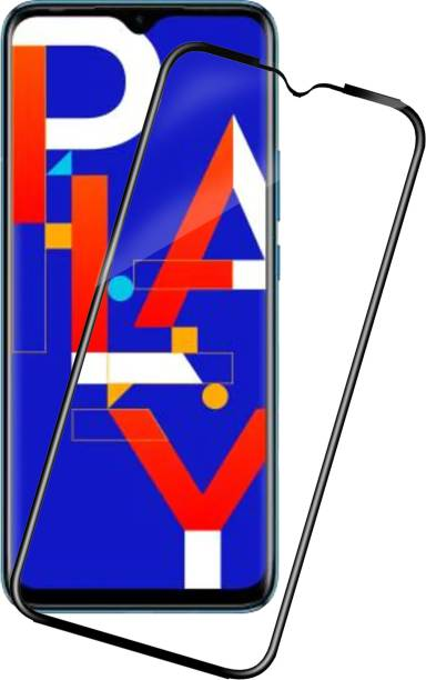 Knotyy Edge To Edge Tempered Glass for Infinix Hot 10 Play, Infinix Hot 10s