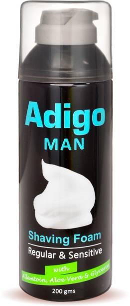 adigo Man Shaving Foam with Aloe vera & Allantoin