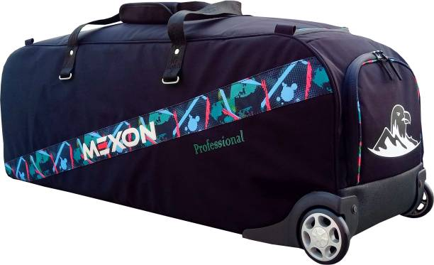 MEXON Professional Cricket Kit Bag with Car Wheels   Fully Padded