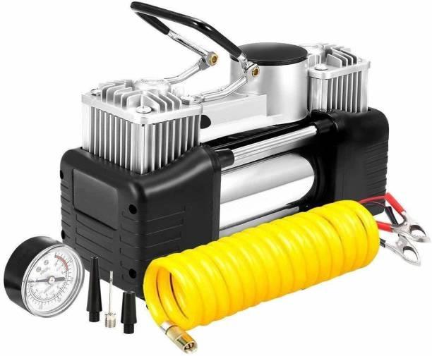 SHOPPOFOBIX 150 psi Tyre Air Pump for Car & Bike