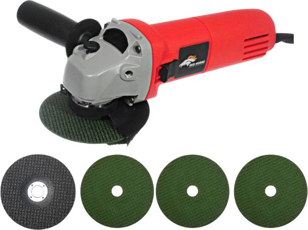 RanPra 600 REDHORSE ANGLE GRINDER HEAVY DUTY WITH 4 DISC 900 W Angle Grinder