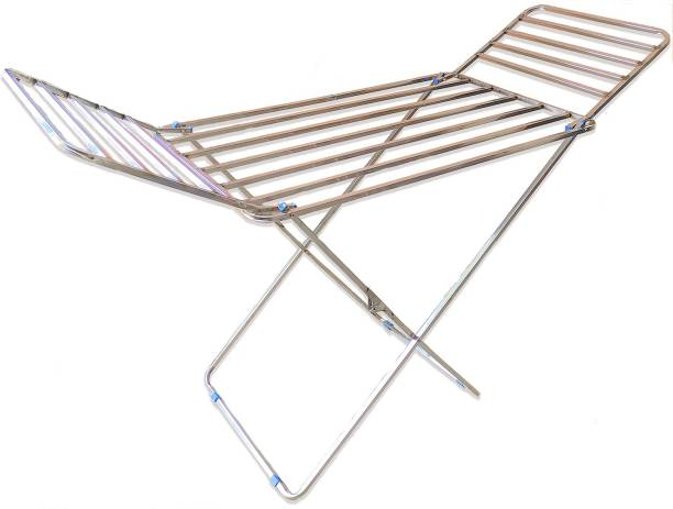 FAVOUR Steel Floor Cloth Dryer Stand SS SQUARE 01