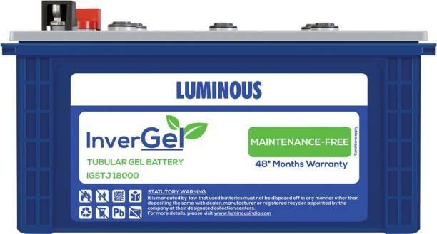 LUMINOUS Invergel IGSTJ18000 150Ah Tubular Gel Battery Tubular Inverter Battery