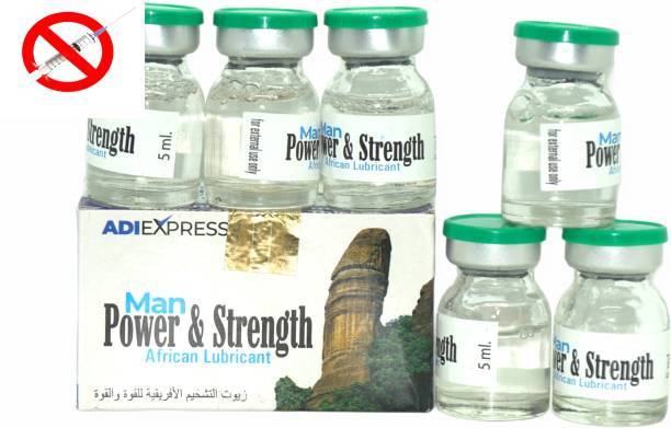 Adi Express Man power & Strength/ Boost Stamina, Man Hard & Long PERSONAL LUBRICANT ENLARGEMENT long time sexual Gel Cream 5ml 6 pic Bottle Lubricant