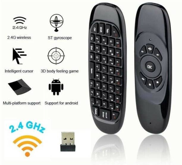 IBS Remote Multifunction Smart Air Mouse, Mini Wireless Keyboard for Smart Android TV Box PC Laptop Projector HTPC IPTV Media Player Games remote SONY ETC Remote Controller