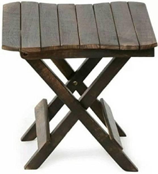 VIRKCRAFT Solid Wood Side Table