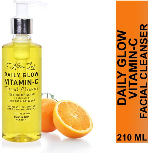 nature leaf Daily Glow Vitamin C Facial Cleanser