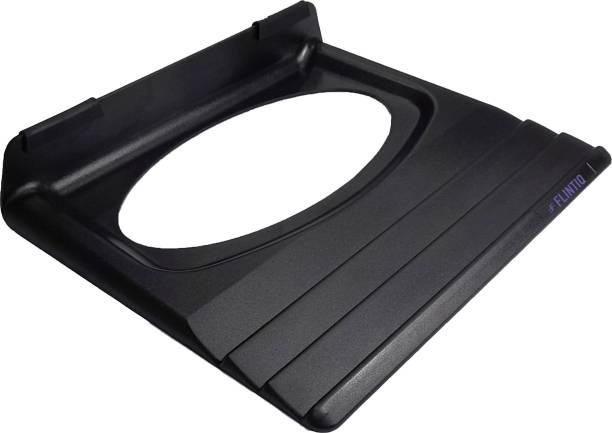FLINTIQ Black Portable Laptop Cooling Pad