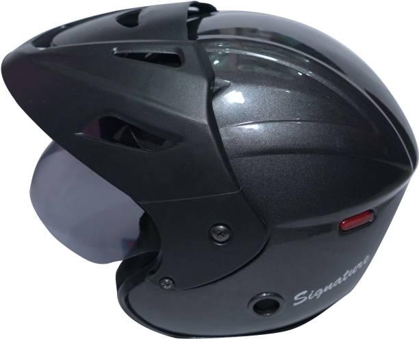 Zeenex OPEN FACE WITH CAPE Motorbike Helmet