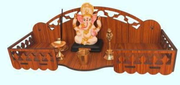 Mandiram TEMPLE 027G Engineered Wood Home Temple (Height: 16, Pre-assembled) Engineered Wood Home Temple