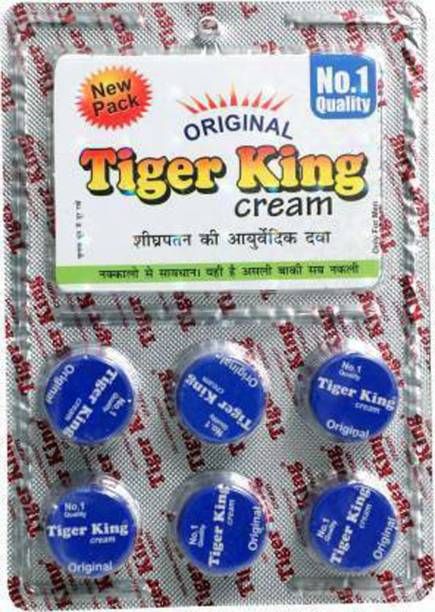 Zieozed 100% Herbal Tiger King Cream Enlargement Cream For Men Pack Of 1