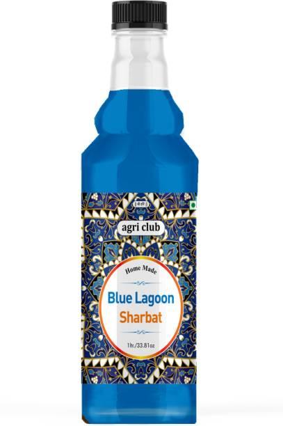 AGRI CLUB Blue Lagoon Sharbat 1L (Blue Lagoon)