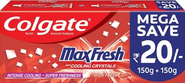 Colgate MaxFresh Spicy Fresh Red Gel Toothpaste